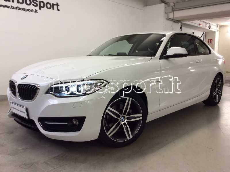 bmw serie 2 coupe 218d sport